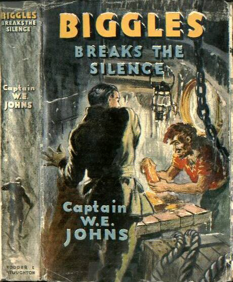 Biggles Breaks the Silence - Dustjacket of 36-01