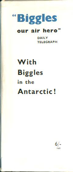Biggles Breaks the Silence - Front flap of 36-01