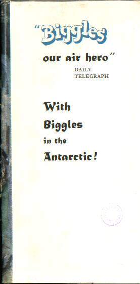 Biggles Breaks the Silence - Front flap of 36-05