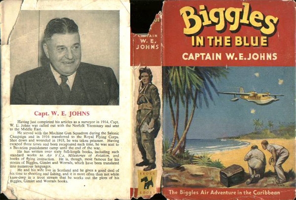 Biggles in the Blue - Dustjacket of 45-01