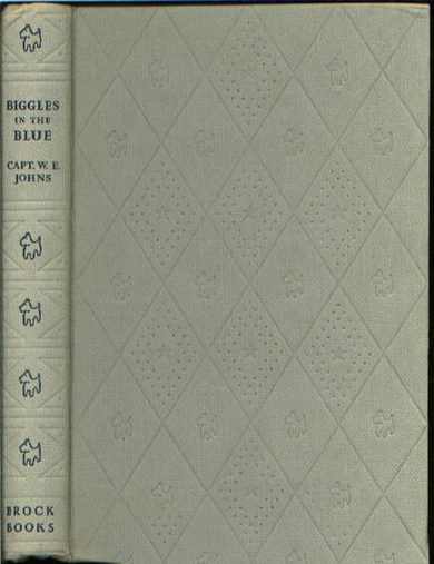 Biggles in the Blue - Binding of 45-02