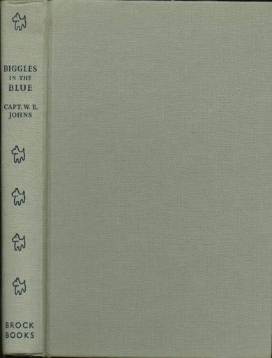Biggles in the Blue - Binding of 45-04