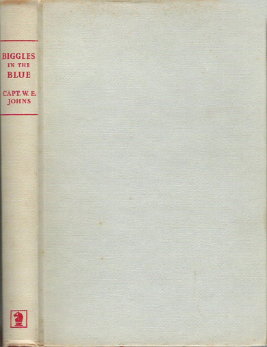 Biggles in the Blue - Binding of 45-05