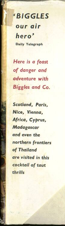 Biggles and the Pirate Treasure - Front flap of 49-02