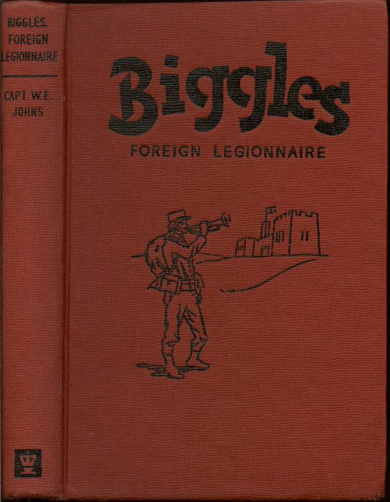 Biggles Foreign Legionnaire - Binding of 50-05