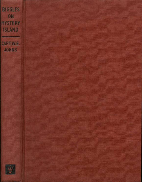 Biggles on Mystery Island - Binding of 61-03
