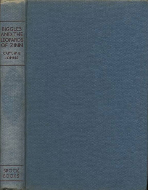 Biggles and the Leopards of Zinn - Binding of 66-01
