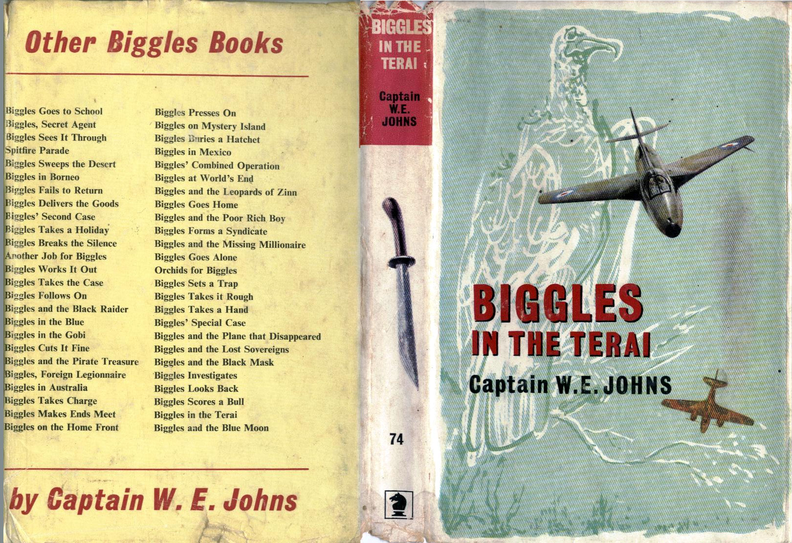 Biggles in the Terai - Dust jacket of 86-01