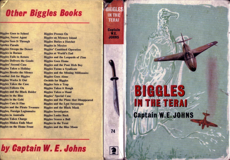 Biggles in the Terai - Laminate cover of 86-01
