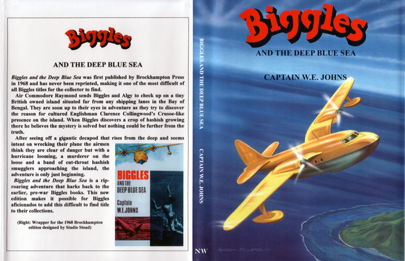 Biggles and the Deep Blue Sea - Dustjacket of 91-04