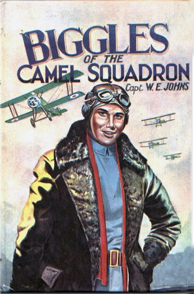Biggles of the Camel Squadron - Cover for 03-18