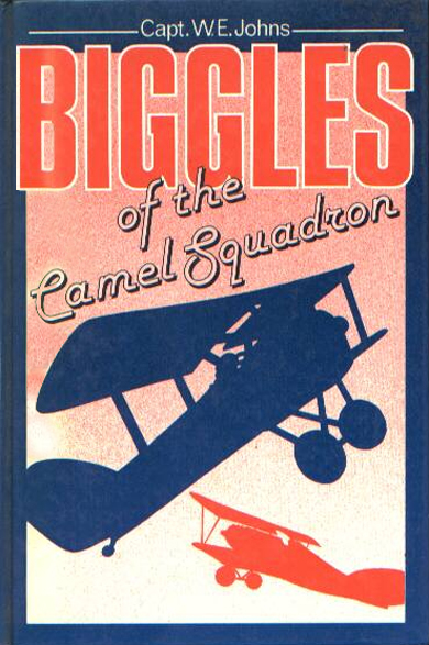 Biggles of the Camel Squadron - Cover for 03-27