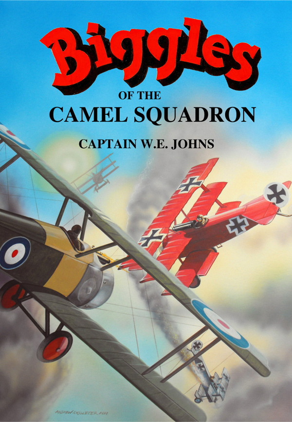 Biggles of the Camel Squadron - Cover of 03-31