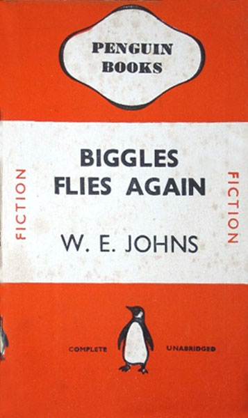 Biggles Flies Again - Cover for 04-06