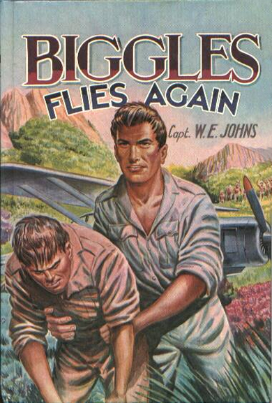 Biggles Flies Again - Cover for 04-14