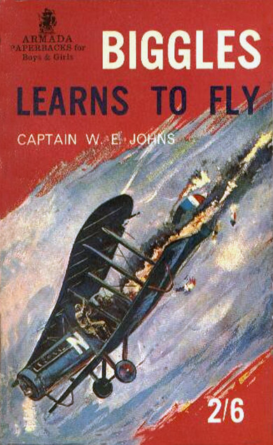 Biggles Learns To Fly - Cover for 05-03