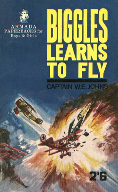 Biggles Learns To Fly - Cover for 05-04