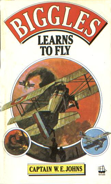 Biggles Learns To Fly - Cover for 05-05