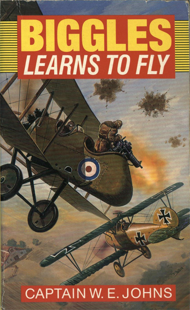Biggles Learns To Fly - Cover for 05-12