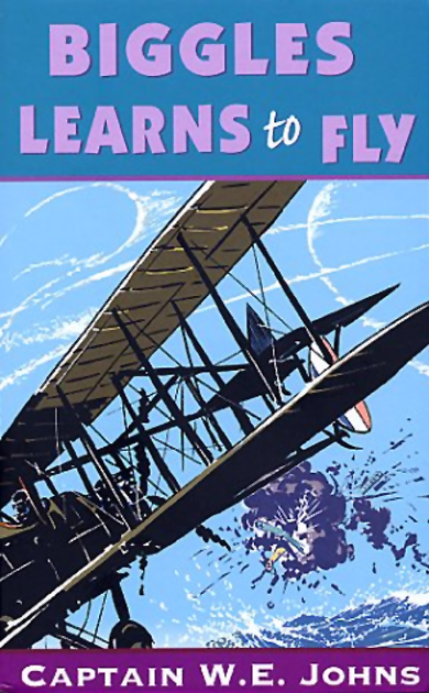Biggles Learns To Fly - Cover for 05-13