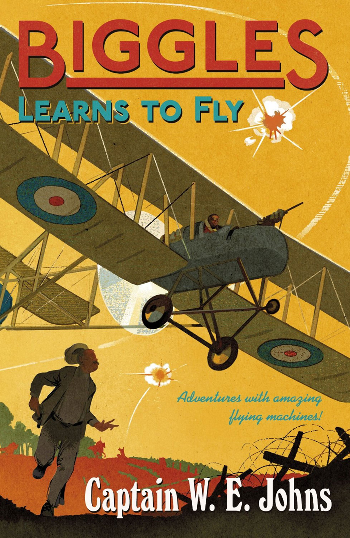 Biggles Learns To Fly - Cover of 05-15