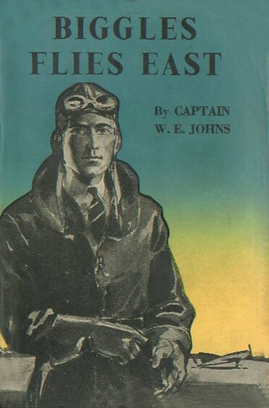 Biggles Flies East - Cover of 07-12