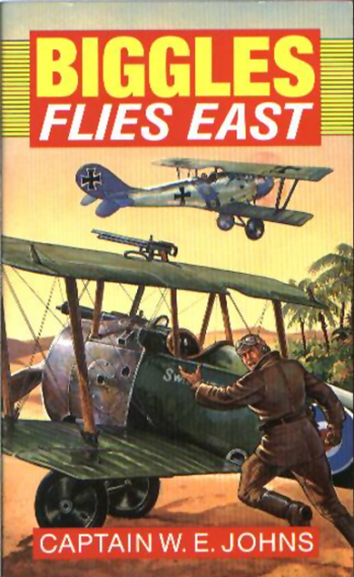 Biggles Flies East - Cover of 07-16