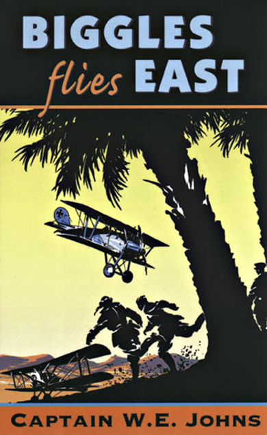 Biggles Flies East - Cover of 07-17