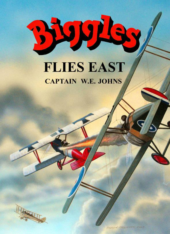 Biggles Flies East - Cover of 07-18