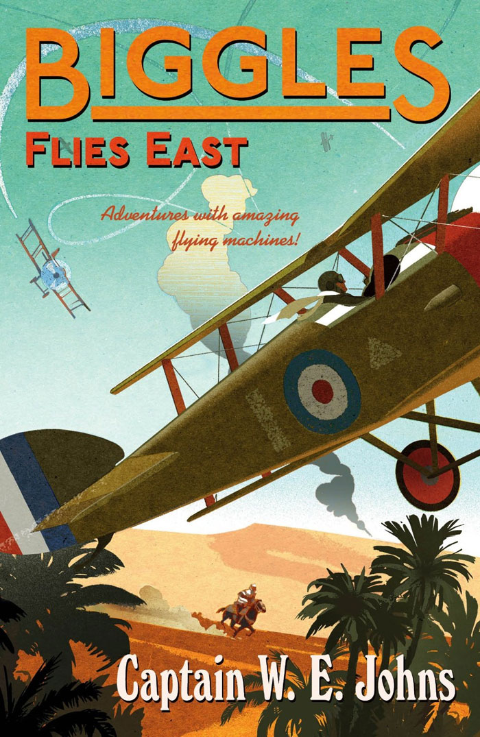 Biggles Flies East - Cover of 07-19