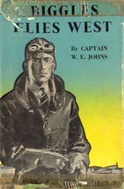 Biggles Flies West - Cover of 13-08
