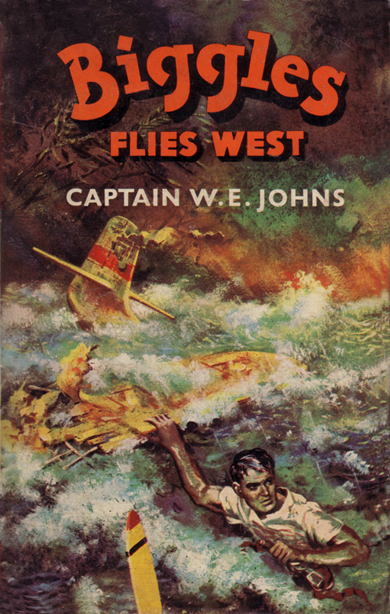 Biggles Flies West - Cover for 13-10