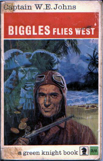 Biggles Flies West - Cover of 13-11
