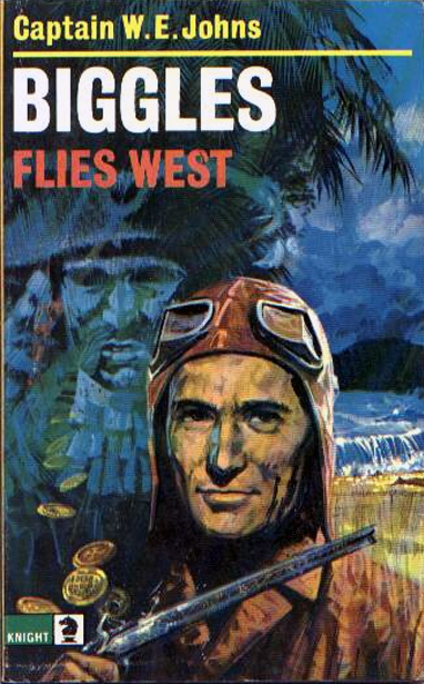 Biggles Flies West - Cover of 13-14