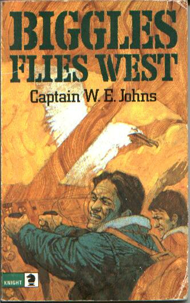 Biggles Flies West - Cover of 13-15