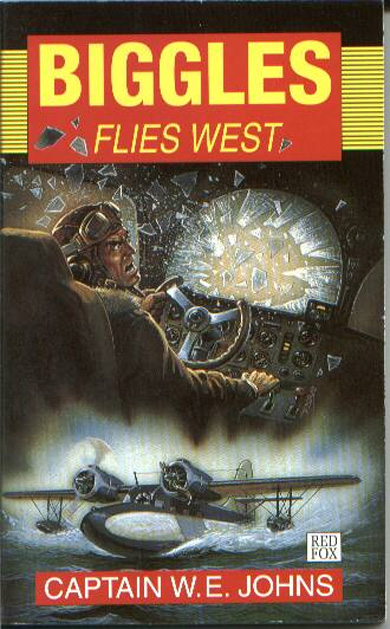 Biggles Flies West - Cover of 13-16