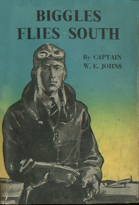 Biggles Flies South - Cover of 14-08