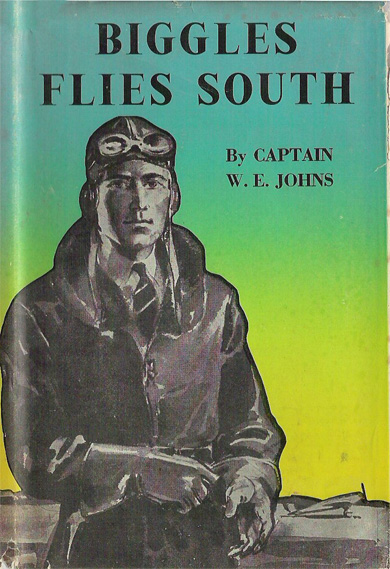 Biggles Flies South - Cover of 14-10