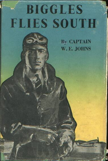 Biggles Flies South - Cover of 14-11