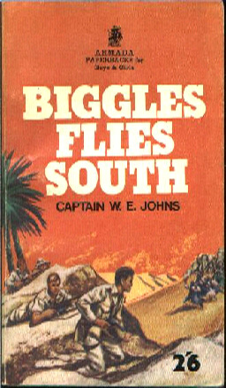 Biggles Flies South - Cover of 14-14
