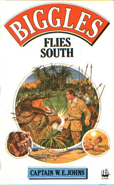 Biggles Flies South - Cover of 14-21