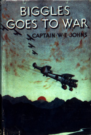 Biggles Goes To War - Cover for 15-01
