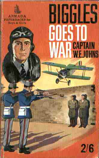 Biggles Goes To War - Cover of 15-10