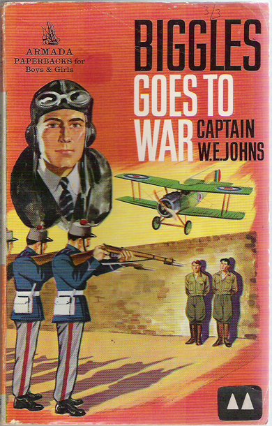 Biggles Goes To War - Cover of 15-11