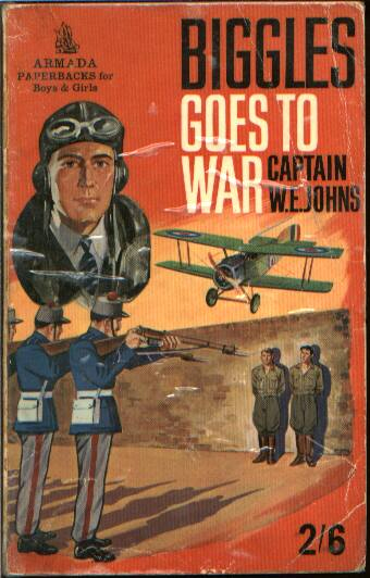 Biggles Goes To War - Cover of 15-12