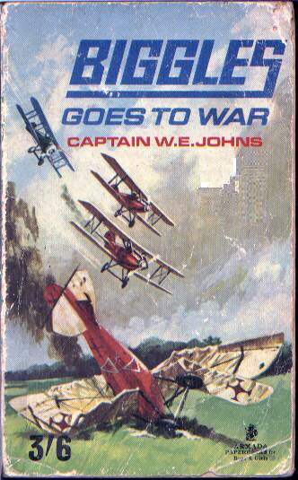 Biggles Goes To War - Cover of 15-13