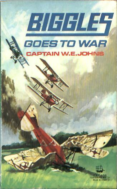 Biggles Goes To War - Cover of 15-14