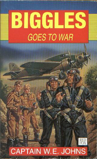 Biggles Goes To War - Cover of 15-21