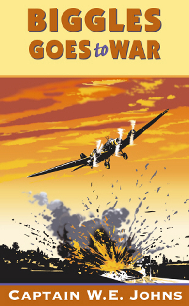 Biggles Goes To War - Cover of 15-22