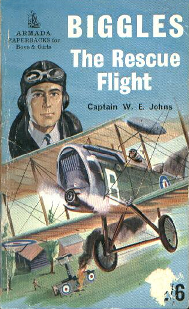 The Rescue Flight - Cover of 16-08